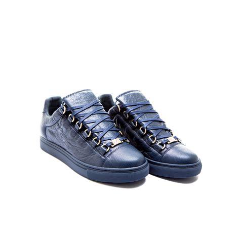 blue balenciaga arena sneakers balenciaga arena sneaker blue derodeloper