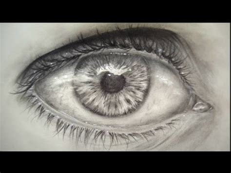 imagenes d ojos llorando c 211 mo dibujar un ojo realista youtube