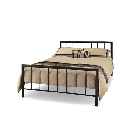 Casa Modena Small Double Bed Frame Black Leekes Small Bed Frames