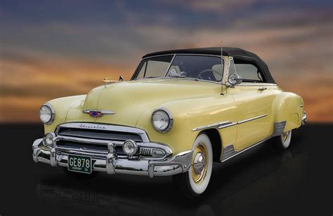 frank benz 1951 chevrolet deluxe convertible photograph by frank j benz