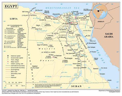 printable map egypt egypt detailed map my blog