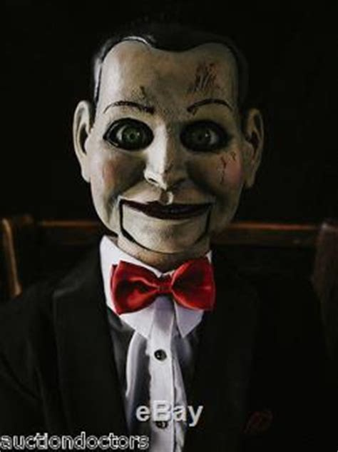 haunted doll billy dead silence billy prop horror puppet haunted dummy