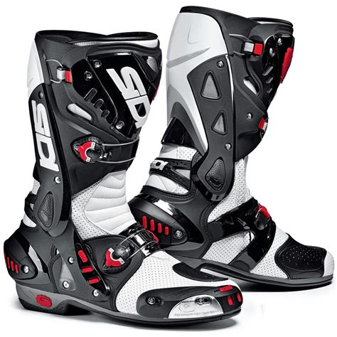 motorcycle track boots sidi vortice air vented race track sports bike motorcycle