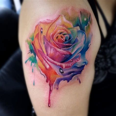 watercolor tattoo københavn watercolor inkaholik tattoos and piercing studio