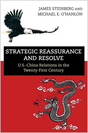 Steinberg J And O Hanlon M E Strategic Reassurance