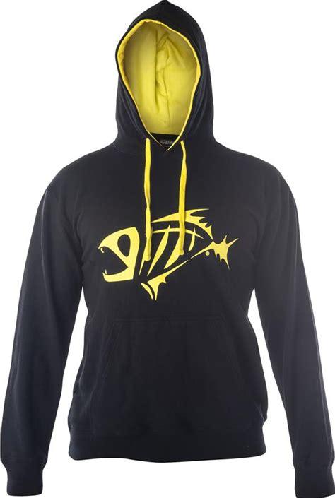 Hoodie Zipper Sweater Macing Gloomis Exlusiv black and yellow hoodie baggage clothing