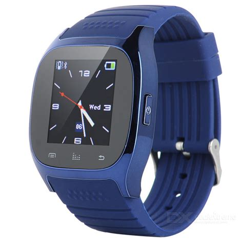Smartwatch M26 m26 bluetooth smart for ios android smartphone blue free shipping dealextreme