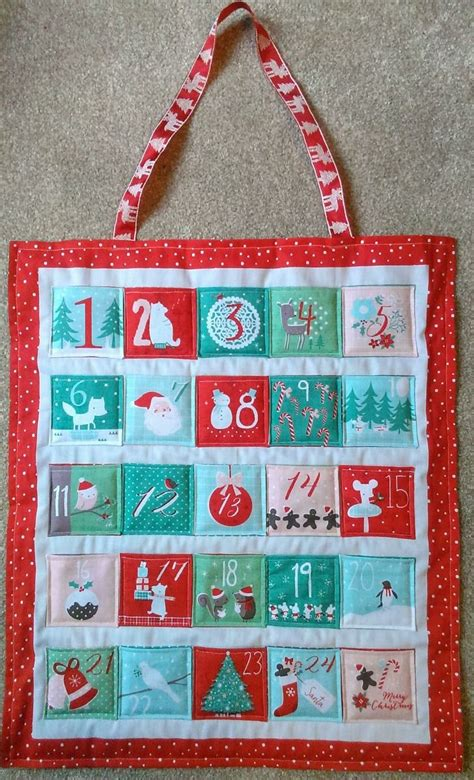 Fabric Advent Calendar Sew Your Own Advent Calendar Fabric Advent Calendar