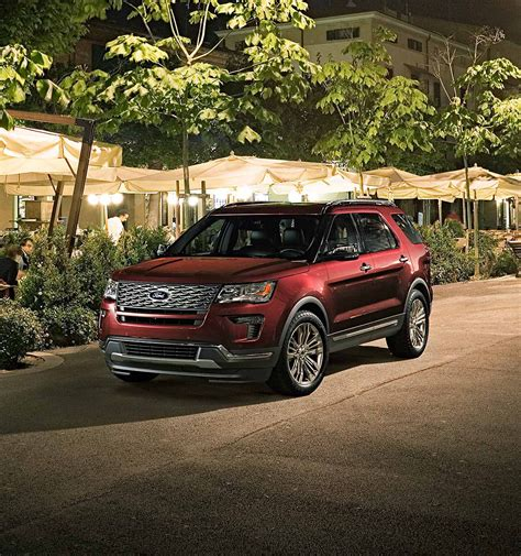ford suv 2018 2018 ford explorer suv ford ca