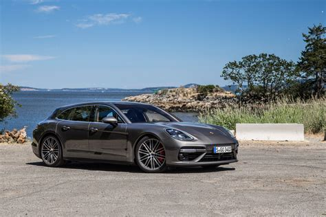 porsche sport grey panamera turbo sport turismo agate grey metallic la