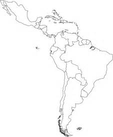 Latin America Blank Map blank map of latin america free printable maps