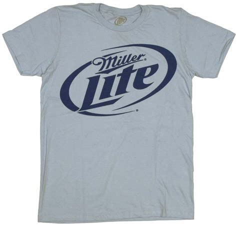 miller light t shirt miller lite logo t shirt sheer