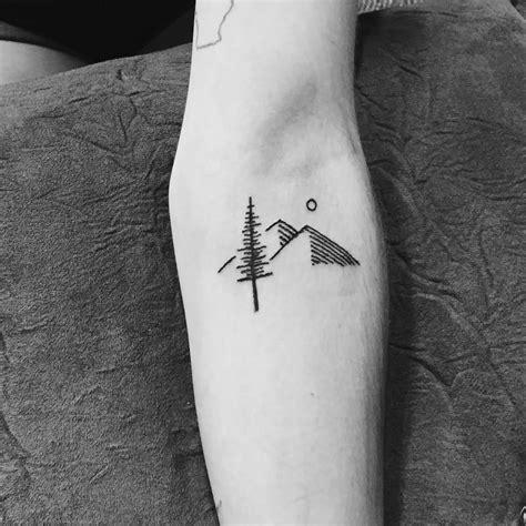 minimalist tattoo mountain 67 mountain tattoos on sleeve