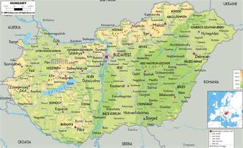 hungary on a world map maps of hungary map library maps of the world