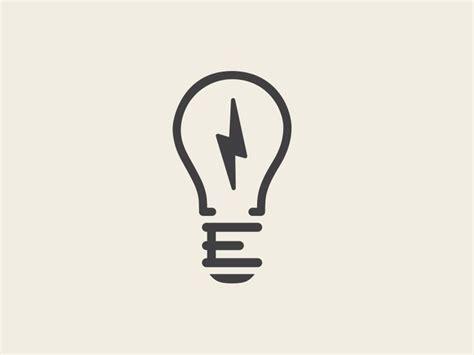 electrik bulb logo it s only a light globe with an quot e