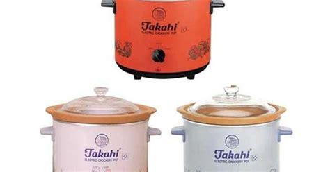 Rice Cooker Takahi alat masak modern alat masak bubur bayi takahi cooker
