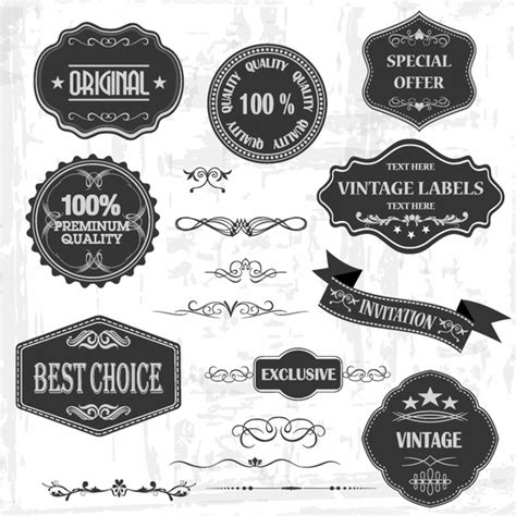 label design cdr free download free vintage label vector free vector download 13 226