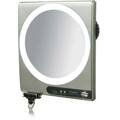 fogless shower mirror with light and magnification zadro led surround light fogless suction cup shower mirror