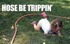 Garden Hose Meme Hose Be Trippin Makes Me Fall Out Of A Chair Laughing