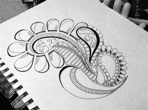 doodle drawing ideas paisley doodle drawing doodle addicted