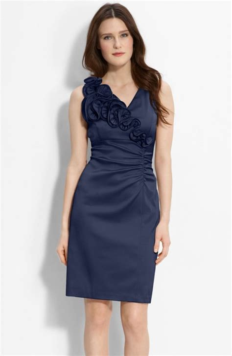 Dress Navy Blue Bunga Navy navy blue dresses for