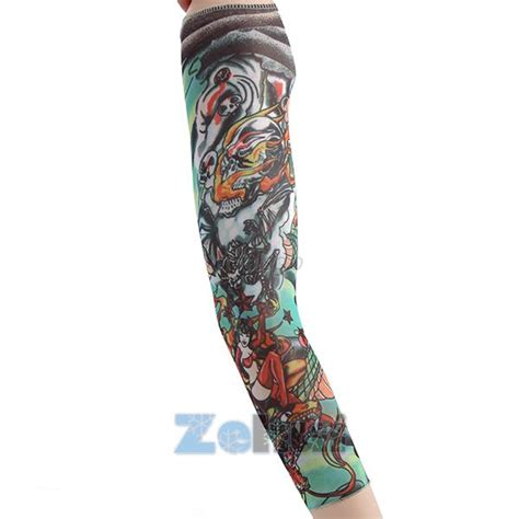 tattoo arm warmers tattoo arm warmer cuff sleeve covers men cycling bicycle