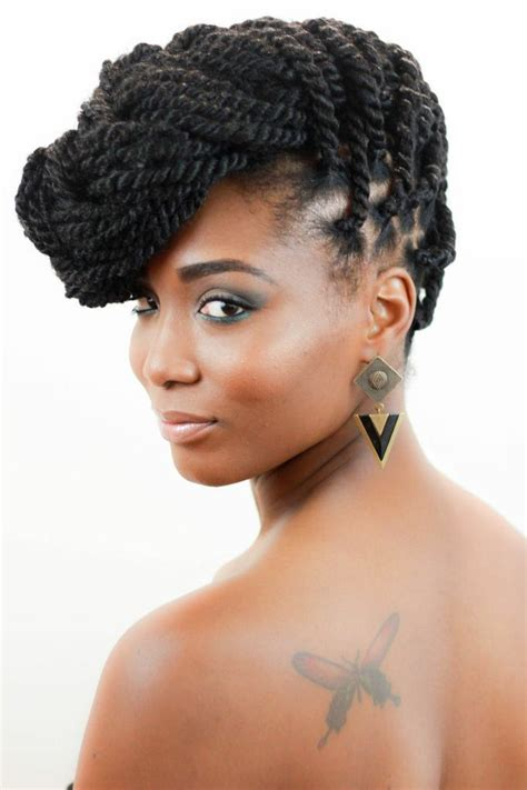 updos using marley hair marley braids updo style natural hair styles pinterest