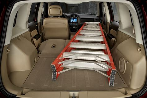 jeep patriot dimensions 2016 jeep patriot cargo space the news wheel