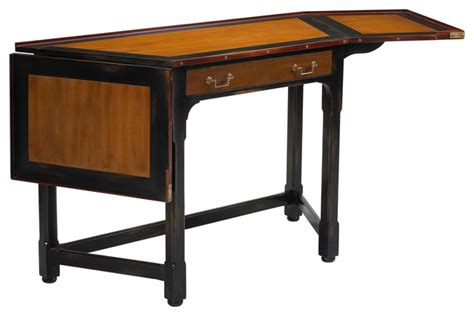 Traditional Corner Desk Heritage Slanted Corner Desk With Drop Sides Traditional Desks And Hutches By
