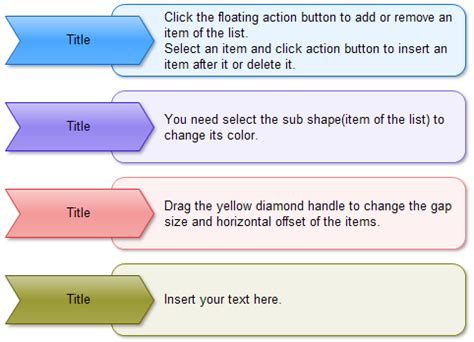Step Chart Templates Step By Step Template