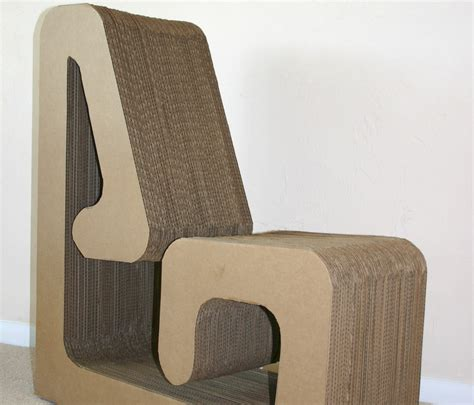 How To Make Chairs - cardboard chair
