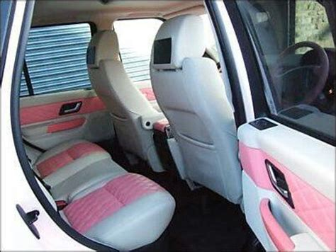range rover pink interior pink on white interior range rover i woke up in a