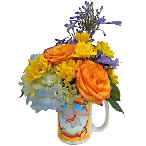 Flower Mug dumbo cuties flower mug designed by karin s florist