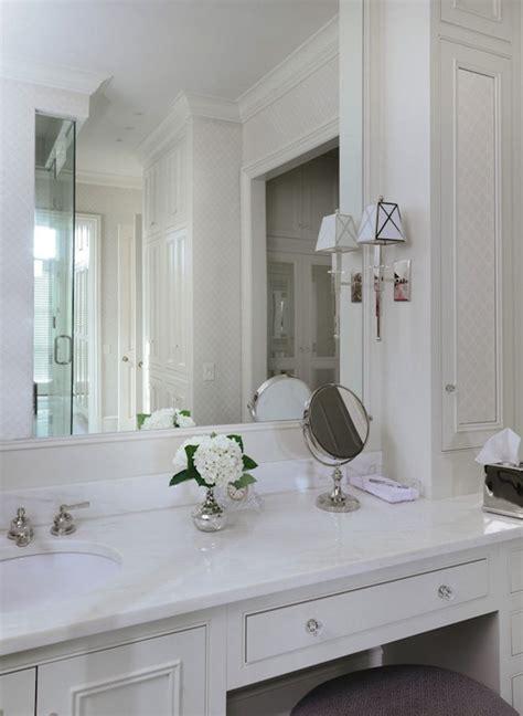 built  makeup vanity traditional bathroom  alabama