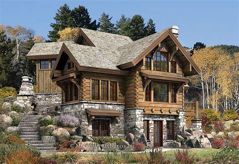 rustic luxury log cabin the targhee mountain