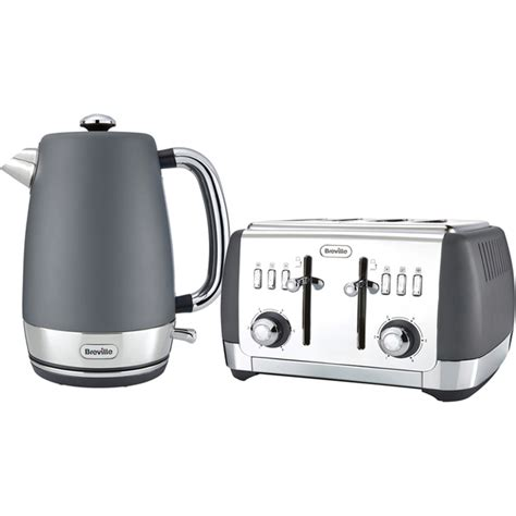 Silver Toaster And Kettle Set Breville Strata Collection Kettle And Toaster Bundle