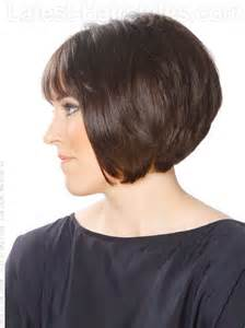 side view of blended wedge haircut short hair styles on pinterest jenna elfman pixie cuts