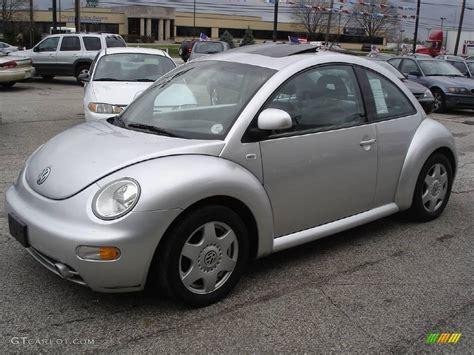 volkswagen beetle silver 1999 silver metallic volkswagen new beetle gls coupe