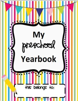 Preschool Yearbook By Teaching S A Hoot By Nicole Johnson Tpt Preschool Yearbook Templates