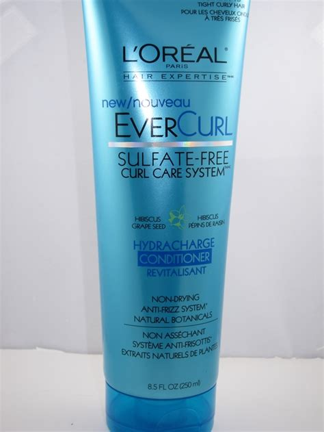 review demo l oreal evercurl l oreal evercurl hydracharge conditioner review musings of a muse