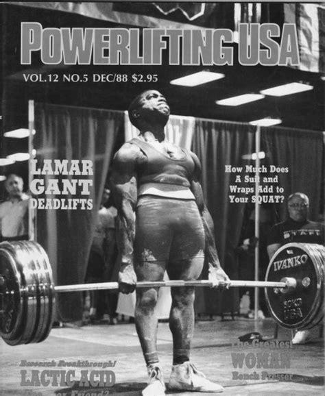 lamar gant bench press powerlifting legends usa weights