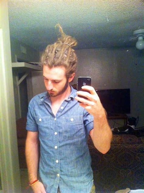 loc bun for men 11 dreadlock hairstyle with white men mens hairstyles 2018
