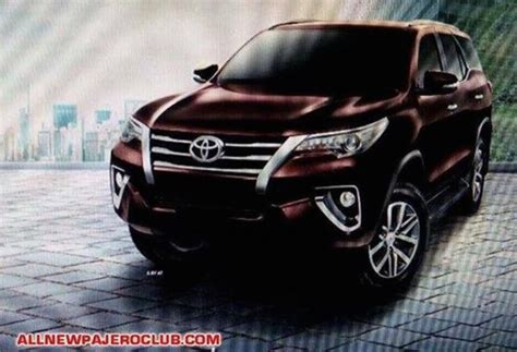 Tshirt All New Fortuner Sketsa 2016 toyota fortuner exterior and interior pics