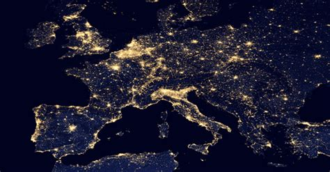 imagenes sorprendentes vistas desde el satelite im 225 genes sat 233 lite nocturnas gis beers