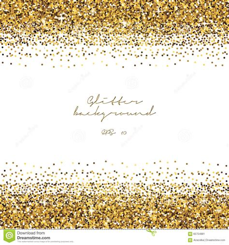 golden glitter border background tinsel shiny backdrop