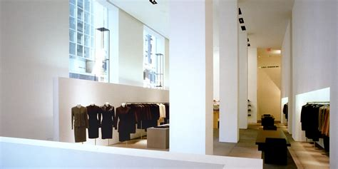 Vodianovas Room For Calvin Klein by Total White David Chipperfield Lo Showroom Driade