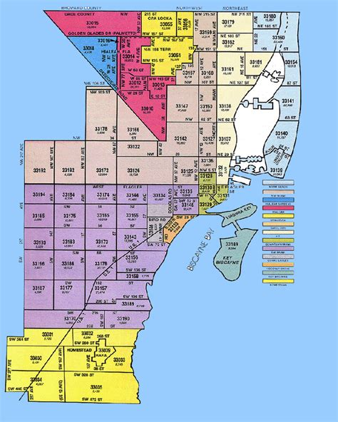 Miami Dade Search Dade County Zip Code Map Pdf Images