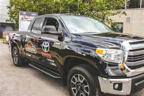 toyota canada inc office toyota tundra delivers the heat for summer barbeques