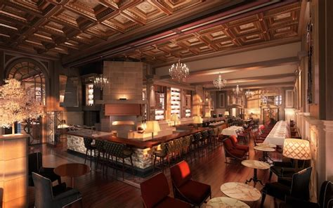 Bar And Kitchen by Dramatic Designs Fairmont Copley Plaza S 20 Million