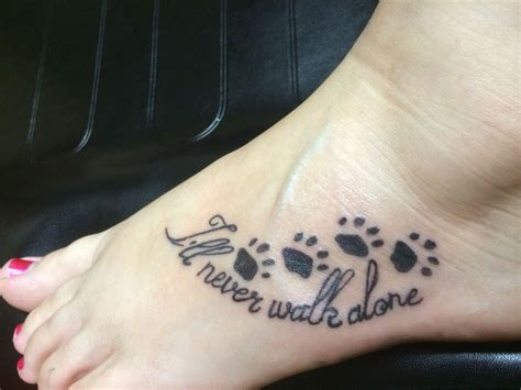 tattoo goo poster paw print tattoos designs ideas and meaning tattoos for